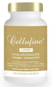 Hyaluronsäure Kapseln Cellufine® HyaVita® Hyaluronsäure 100 mg fermentiert PLATZ 4