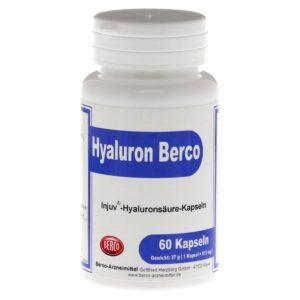 Hyaluron Tabletten Berco Injuv Kapseln 60 St PLATZ 1