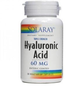 Hyaluron Tabletten Solaray Hyaluronsäure 60 mg. 30cap PLATZ 2